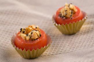 עגבניות שרי ממולאות - אגוזי מלך